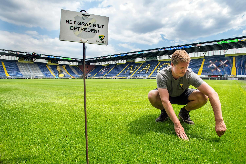 CASE STUDY: LED-verlichting stadion gras bij NAC Breda