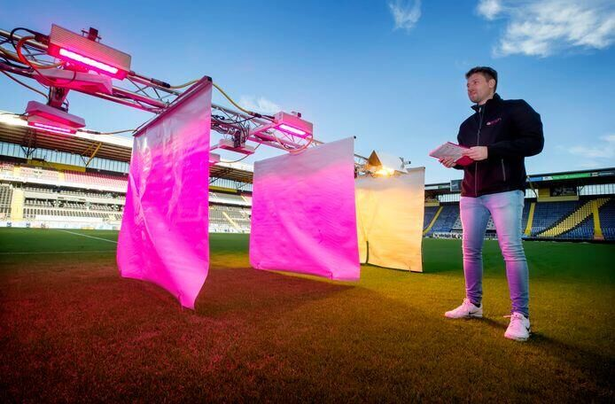 Oreon investigates added value of LED for grass in football stadiums