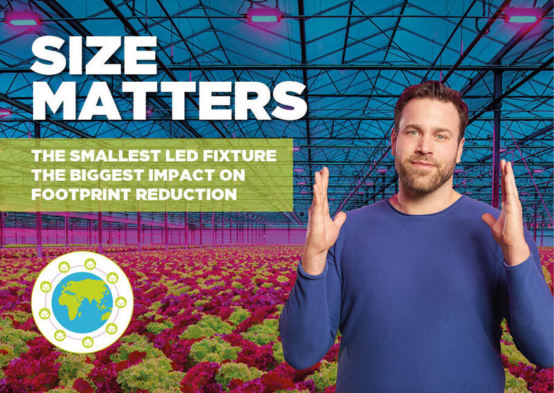 Reduce your footprint and be sustainable. With LED lighting.